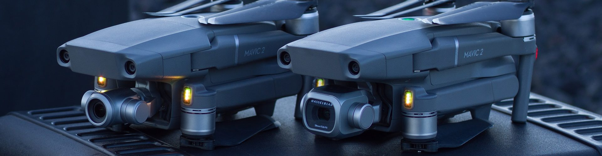 DJI becomes first consumer drones to feature obstacle-detecting sensors on all sides of their bodies.