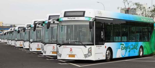 China overtakes world in the adoption of electric buses