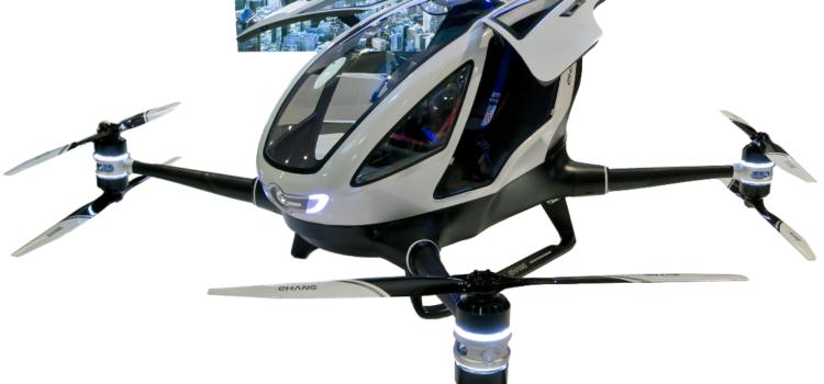 China pilots passenger drones