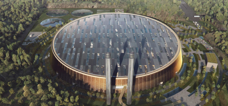 China to open the world's largest waste-to-energy plant