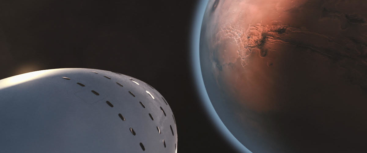 Red Dragon launches red planet mission