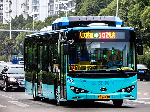 China's BYD lands Columbian electric bus deal