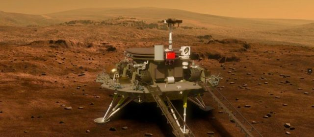 China touches down on Mars in historic landing